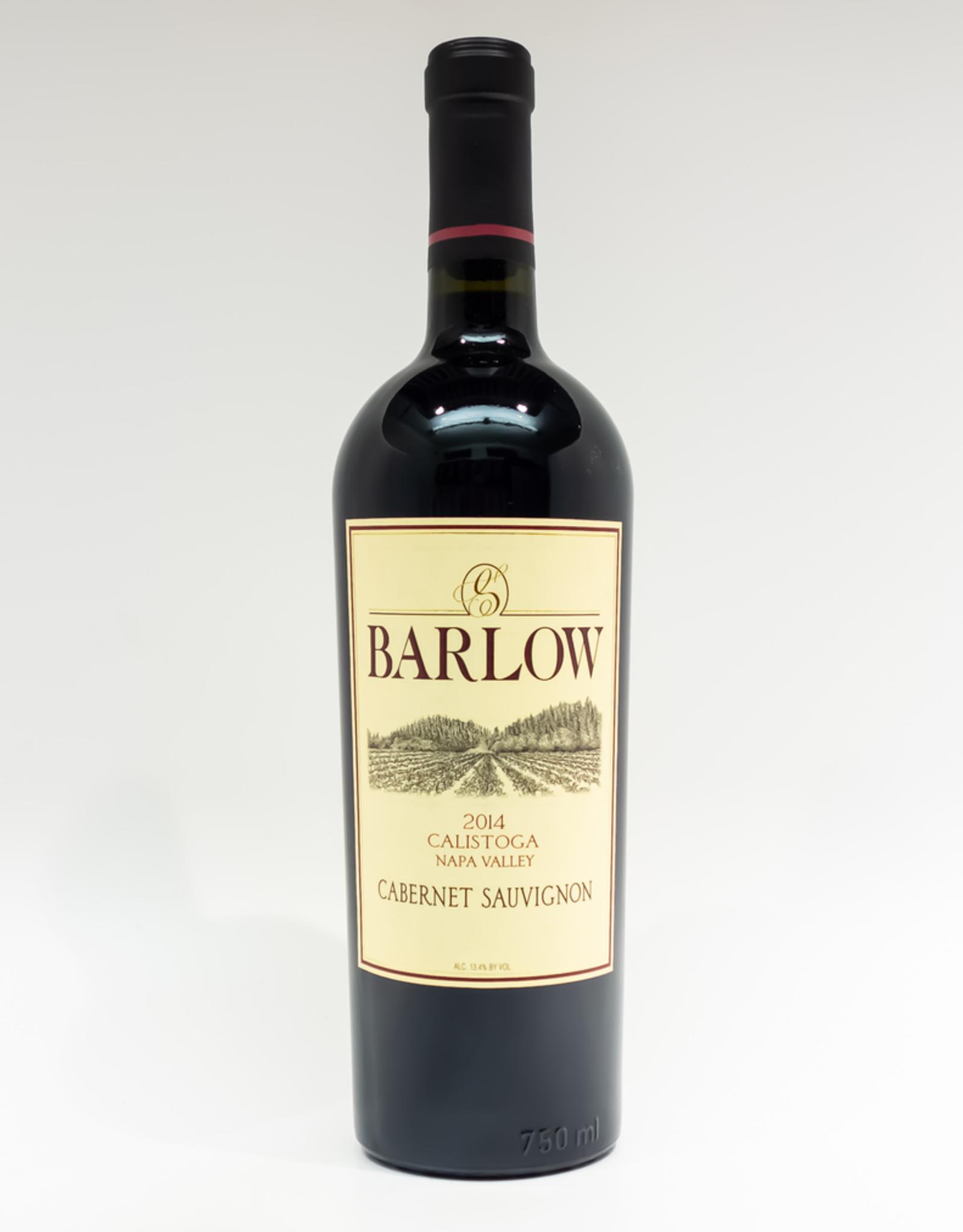 Wine-Red-Big Barlow Cabernet Sauvignon Napa Valley Calistoga 2014