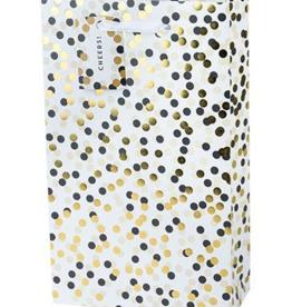 Accessories-Bag 'Tuxedo Dot' Two-Bottle Gift Bag