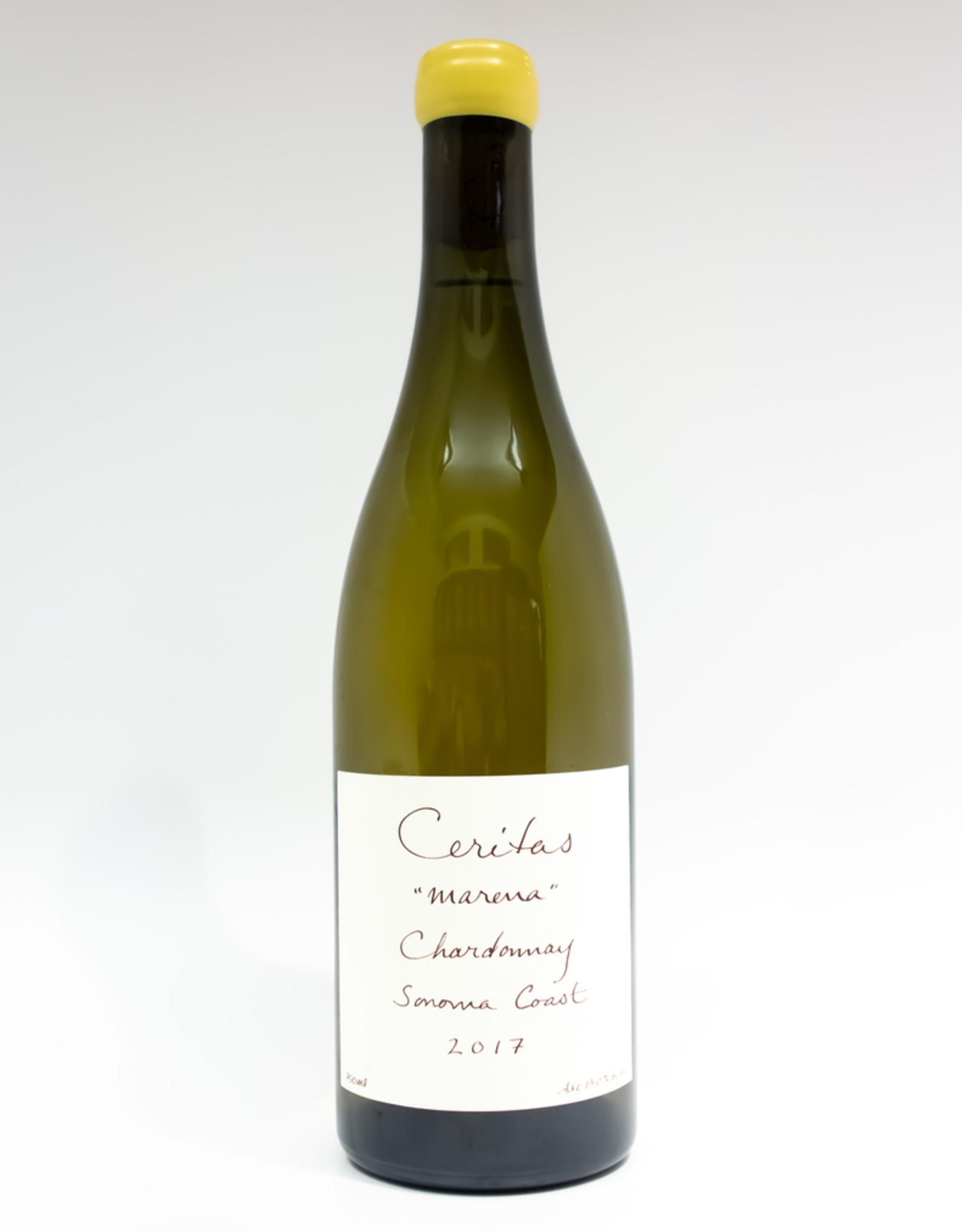 Wine-White-Round Ceritas Chardonnay 'Marena' Sonoma Coast 2017