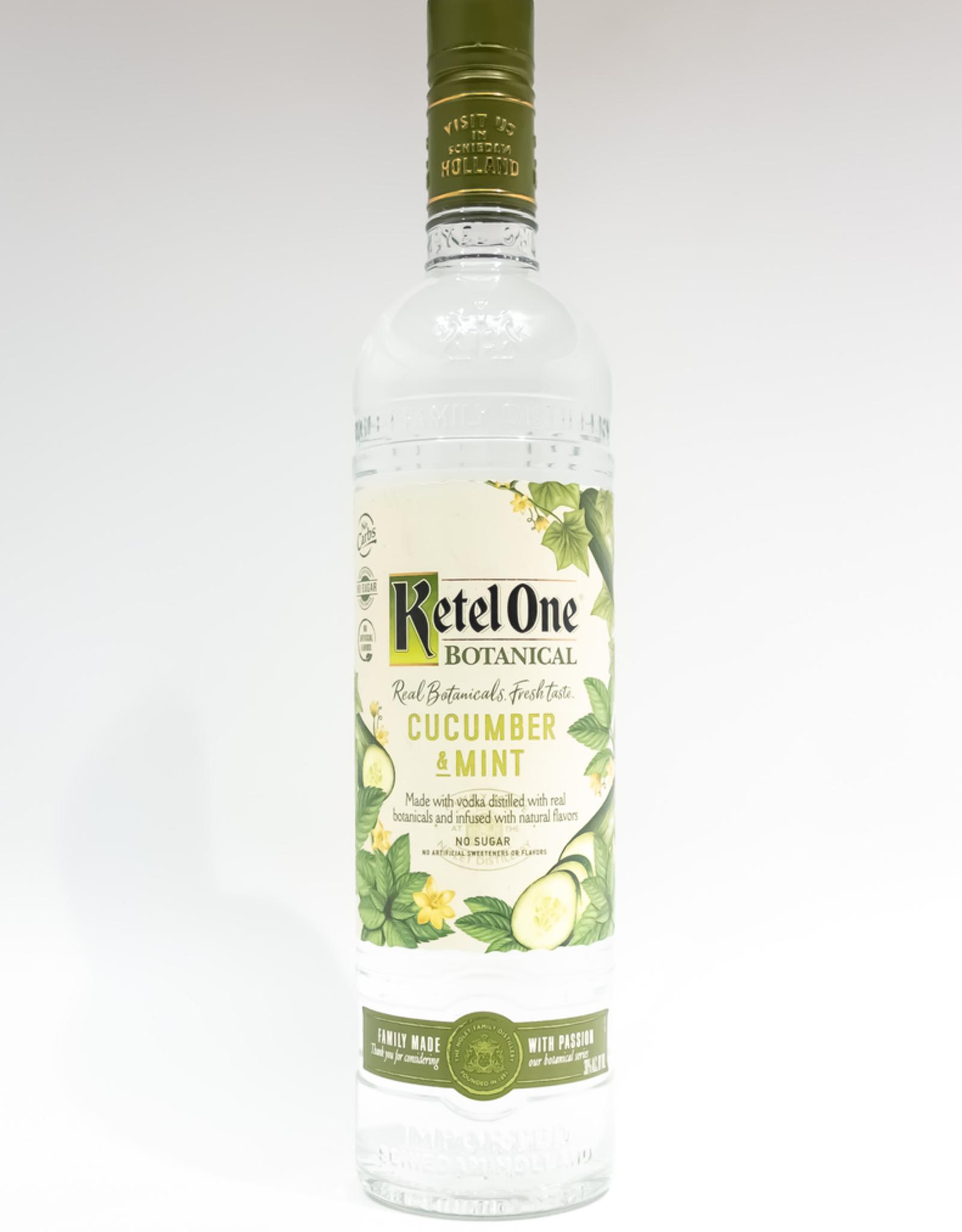 Spirits-Vodka Ketel One Botanical Cucumber Mint Vodka 750ml