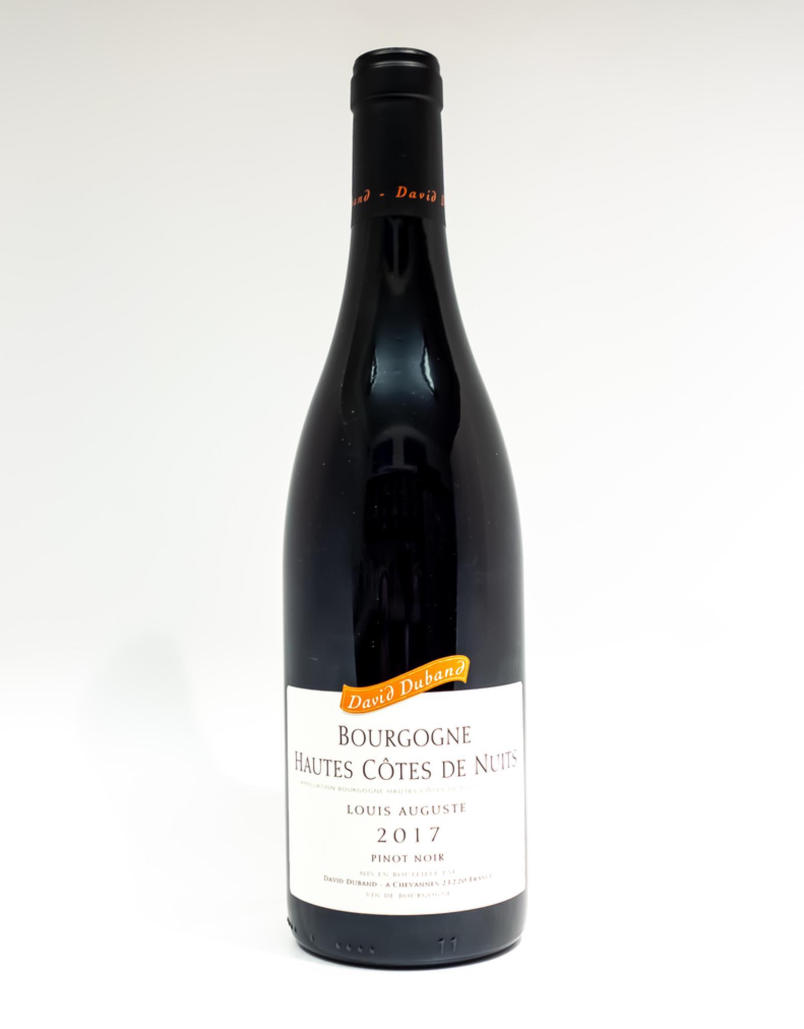Wine-Red-Lush David Duband Bourgorgne Hautes Cotes de Nuits AOC Louis Auguste 2017