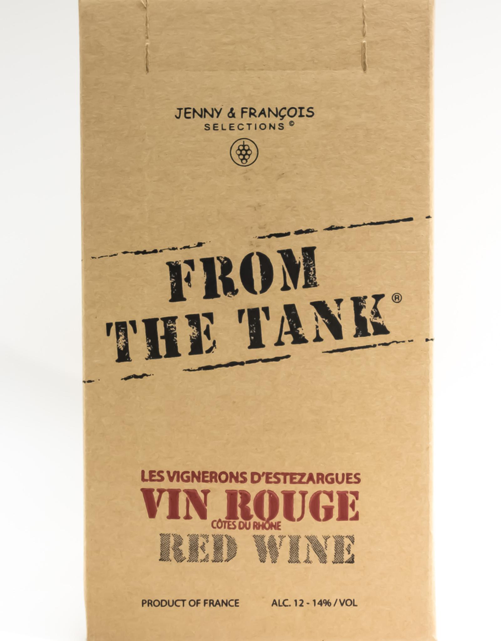 Wine-Red-Lush From the Tank Rouge Cotes du Rhone AOC NV 3L BiB