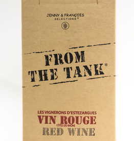 Wine-Red-Lush From the Tank Rouge Cotes du Rhone AOC NV 3L BiB