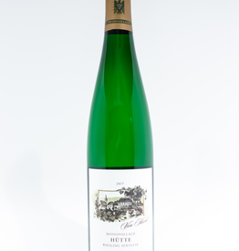 Wine-White-Round Von Hovel Riesling Spatlese Hutte Oberemmel Mosel 2017