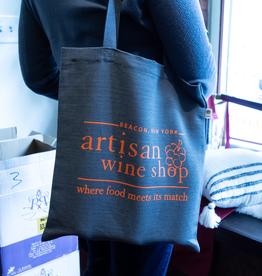 Accessories-Bag Artisan Wine Shop Hemp-Cotton Tote Bag