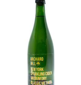 Cider-US-New York State Orchard Hill Gold Label Cider Off-Dry 2018