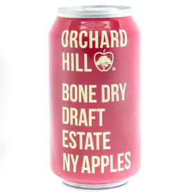 Cider-US-New York State Orchard Hill 'Bone Dry' Cider Can 12oz
