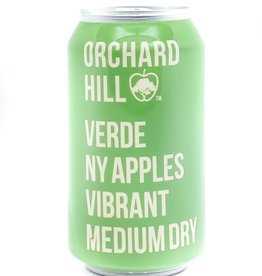 Cider-US-New York State Orchard Hill 'Verde' Cider Can 12oz