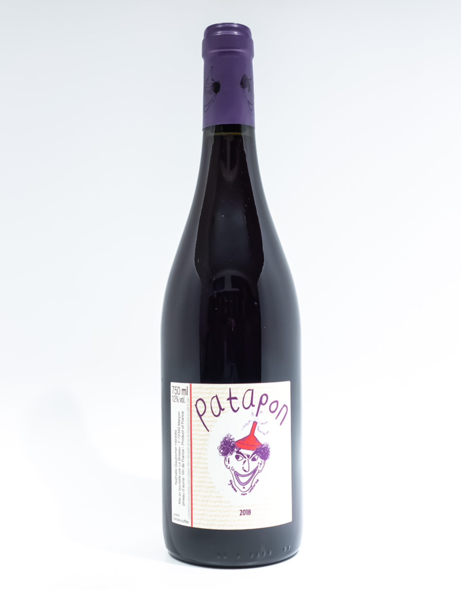 Wine-Red-Light Le Briseau 'Patapon' Rouge Vin de France 2018