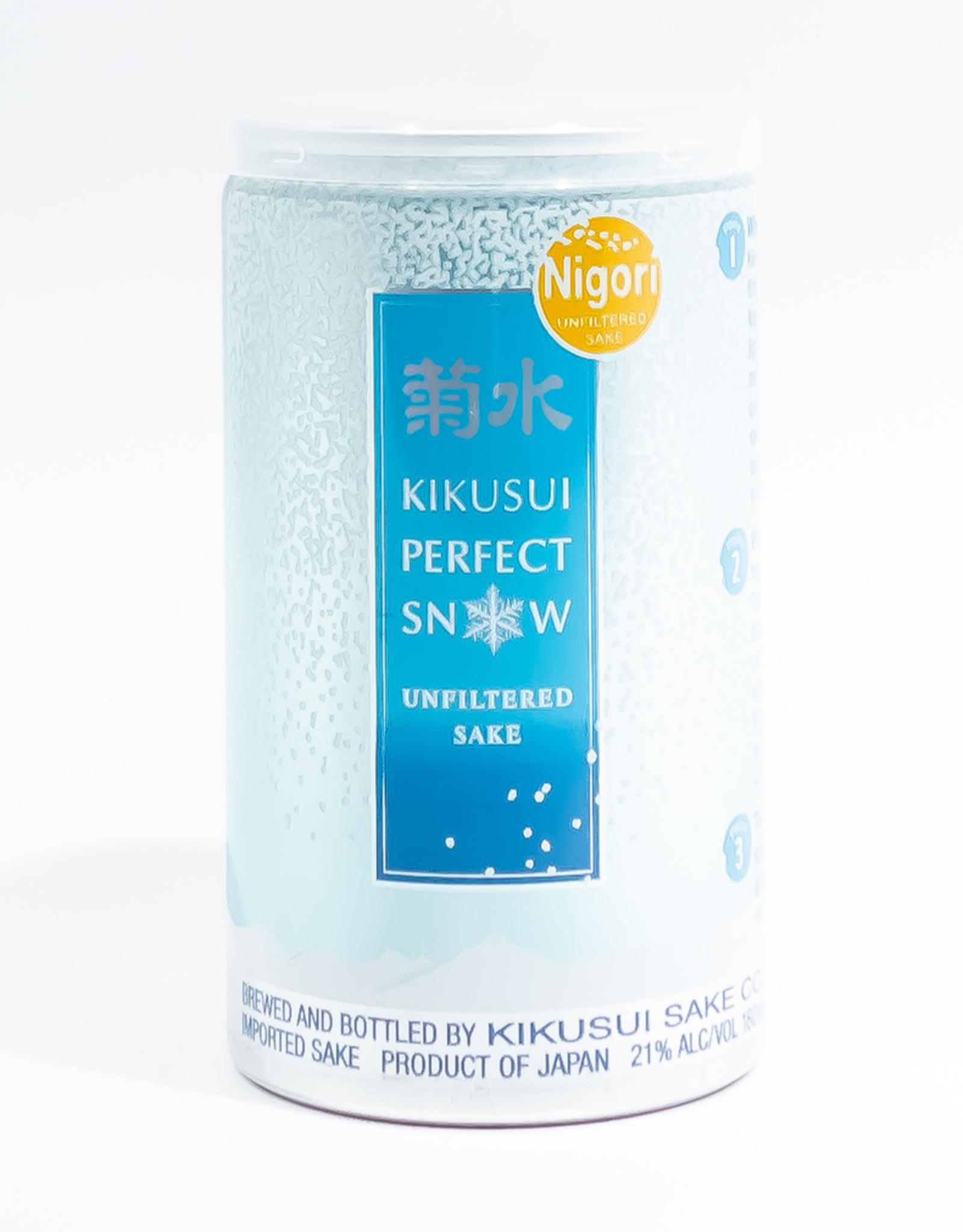 Sake-Nigori Kikusui Shuso 'Perfect Snow' Nigori Sake Can 200ml