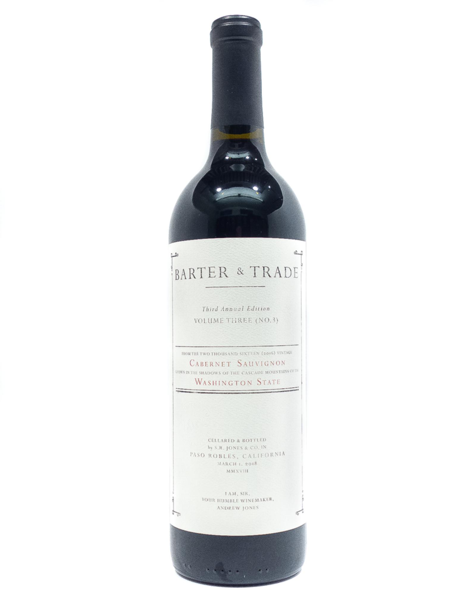 Wine-Red-Big Barter & Trade Cabernet Sauvignon Columbia Valley 2016