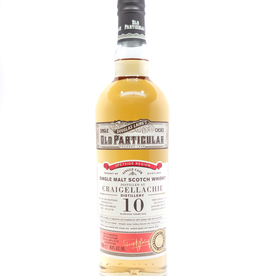 Spirits-Whiskey-Scotch-Single-Malt Douglas Laing Old Particular Craigellachie 10 Year Single Malt Scotch Whisky 750ml