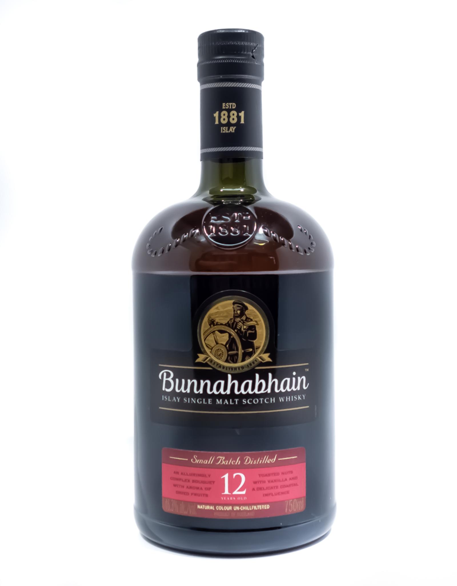 Spirits-Whiskey-Scotch-Single-Malt Bunnahabhain Islay 12 Year Old Single Malt Scotch Whisky 750ml