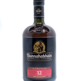 Spirits-Whiskey-Scotch-Single-Malt Bunnahabhain Islay 12 Year Old Single Malt Scotch Whisky 750ml