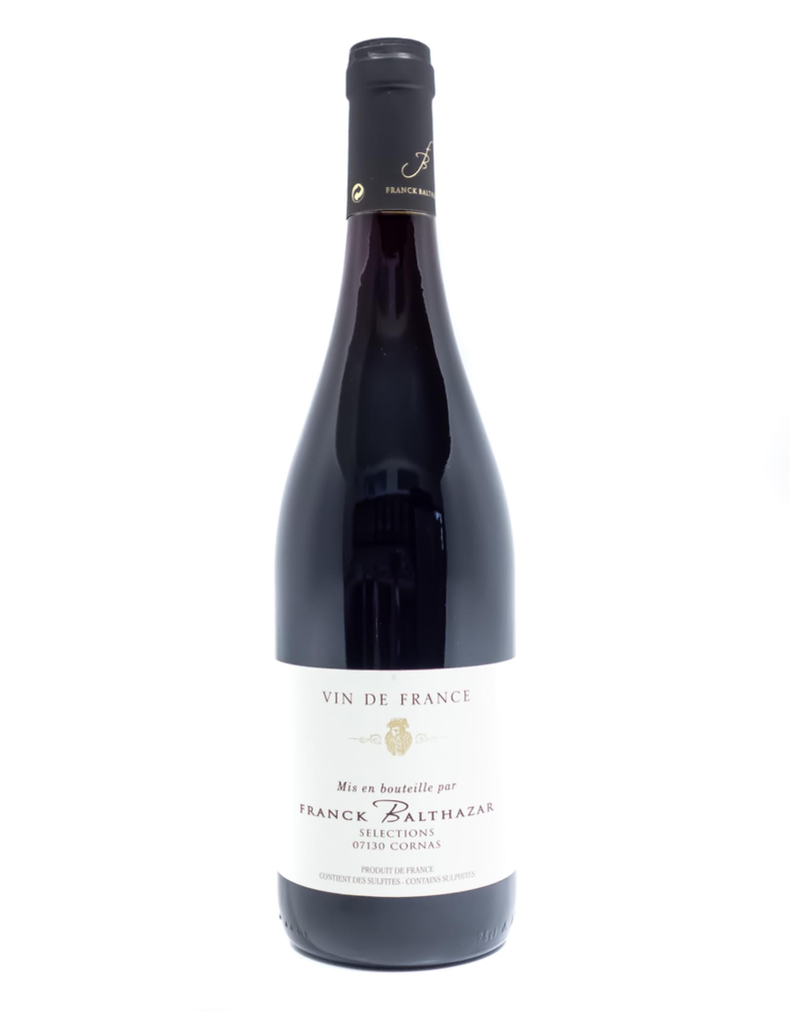 Wine-Red-Lush Franck Balthazar Selections Vin de France 2017