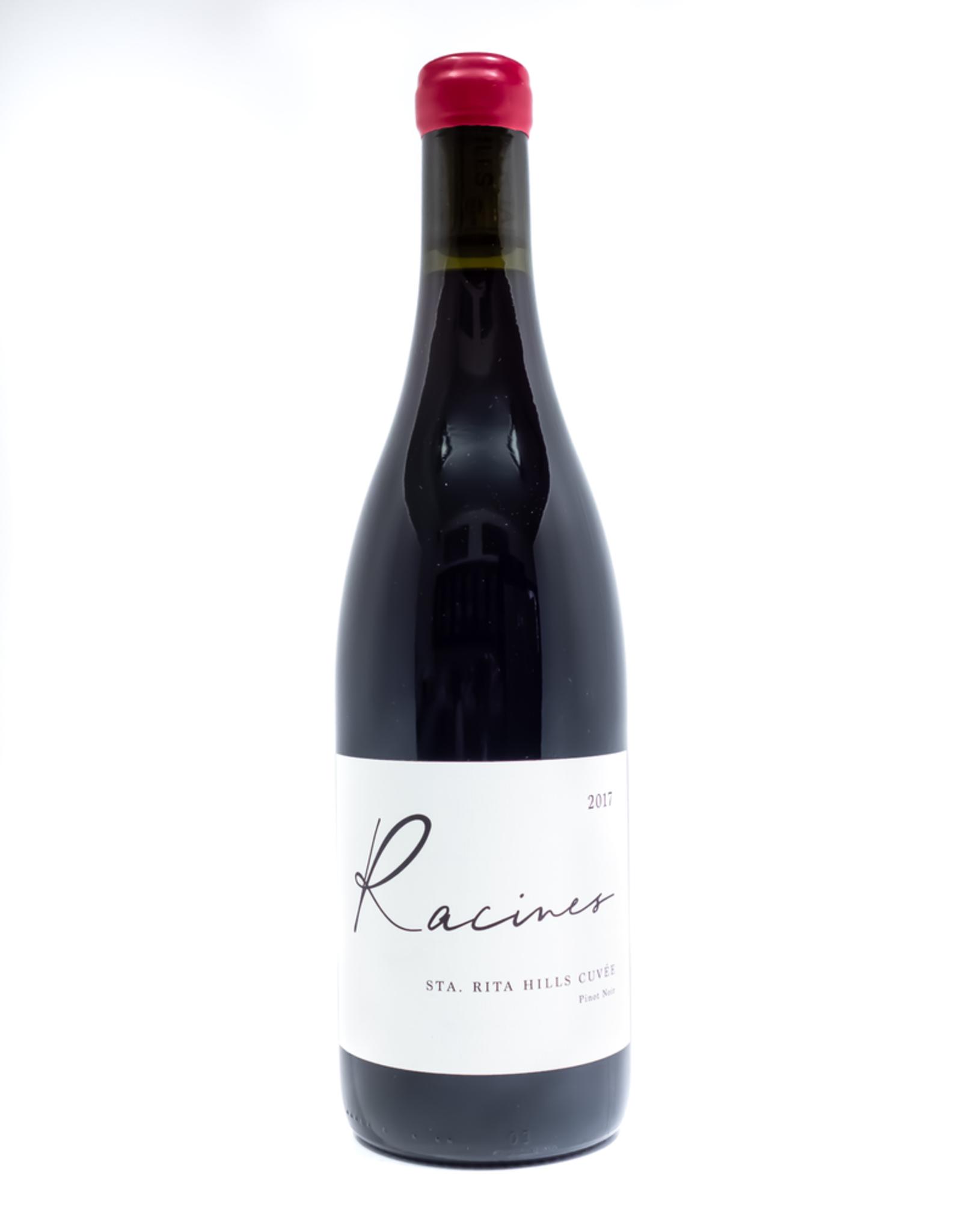 Wine-Red-Lush Racines Wine Pinot Noir Sta. Rita Hills Cuvee 2017