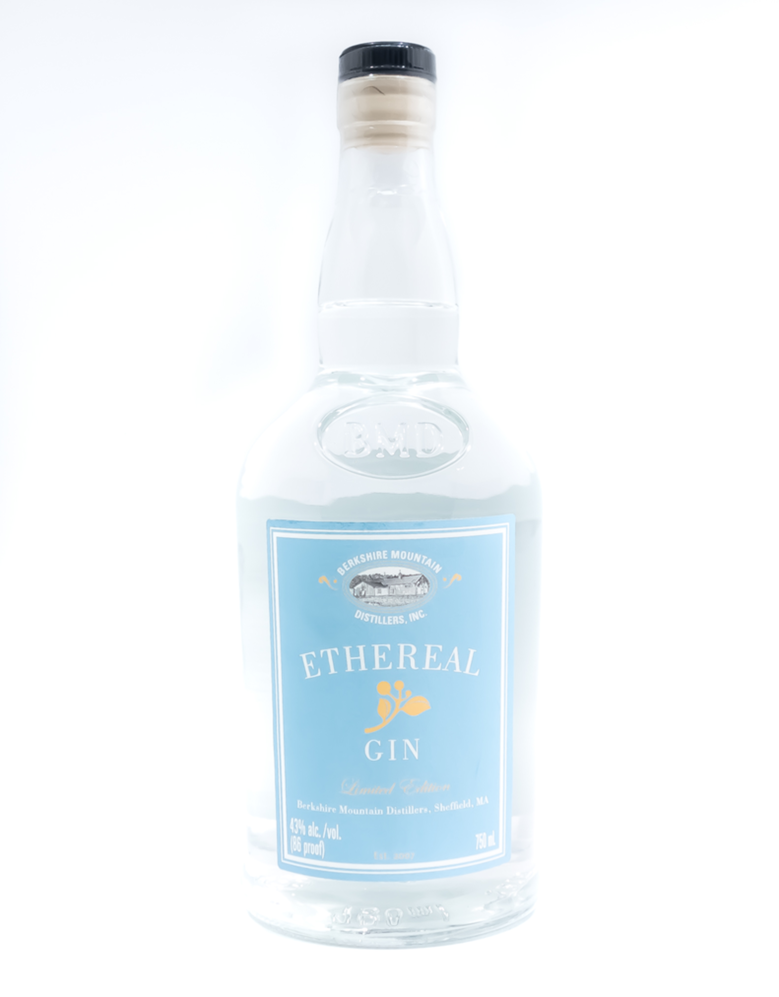 Spirits-Gin Berkshire Mountain Distillers Ethereal Gin 750ml
