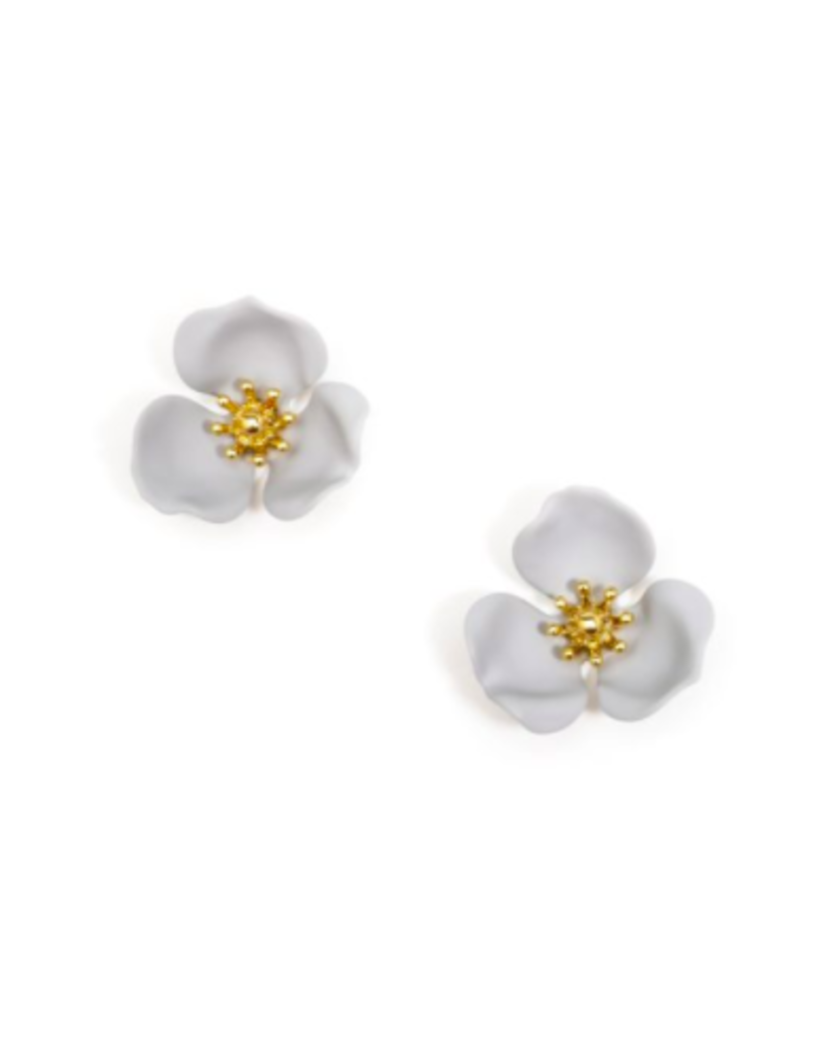 Zenzii Flower Earring Small