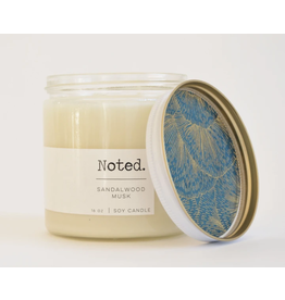 Noted Sandalwood Musk Candle