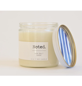 Noted Sea Salt Sage Candle