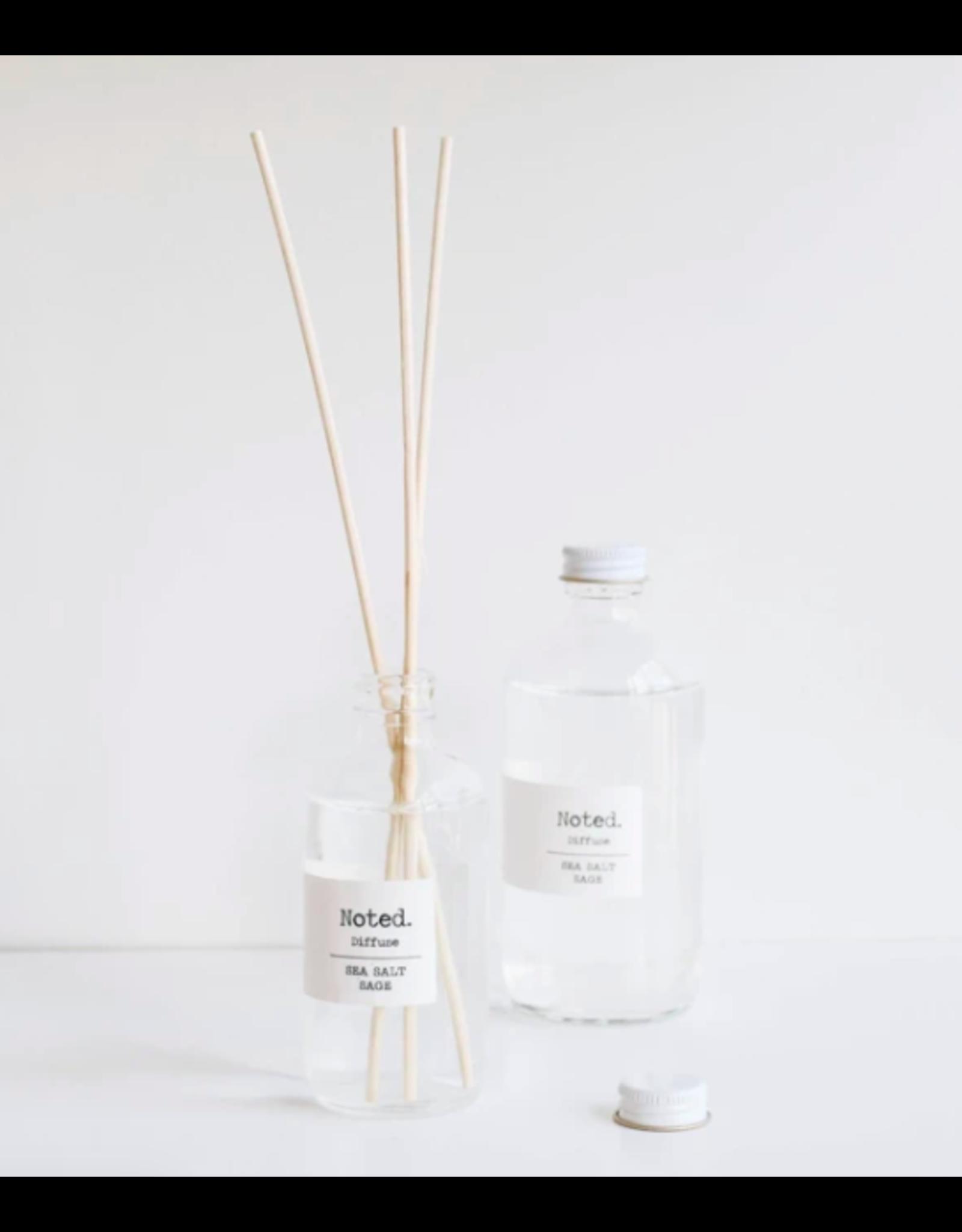 Noted Sea Salt Sage 8oz Diffuser