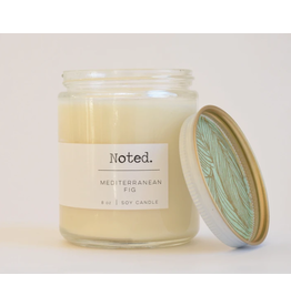 Noted Mediterranean Fig Candle
