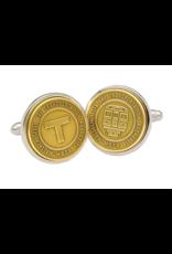 Tokens & Icons Boston Transit Token Cuff Links