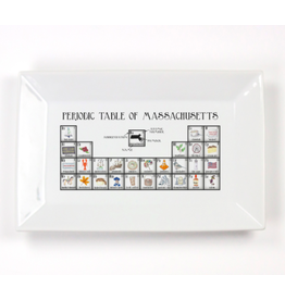 Dishique Massachusetts Periodic Table Tray