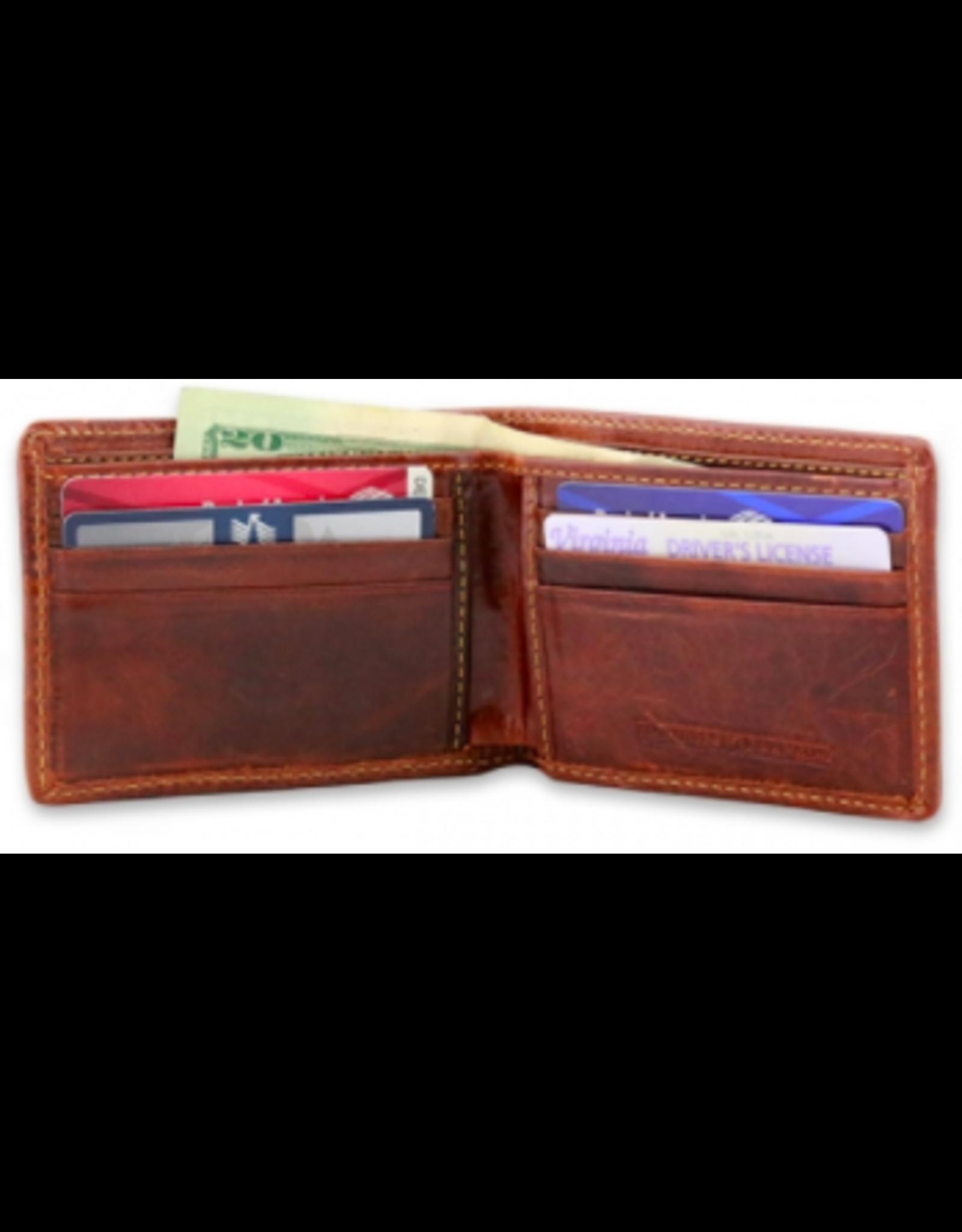 Smathers & Branson Black Lab Bi-Fold Wallet