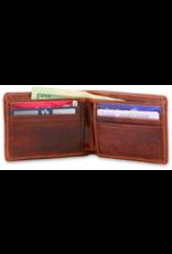 Smathers & Branson Crossed Clubs Bi-Fold Wallet
