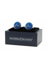Smathers & Branson Crossed Club Cuff Links
