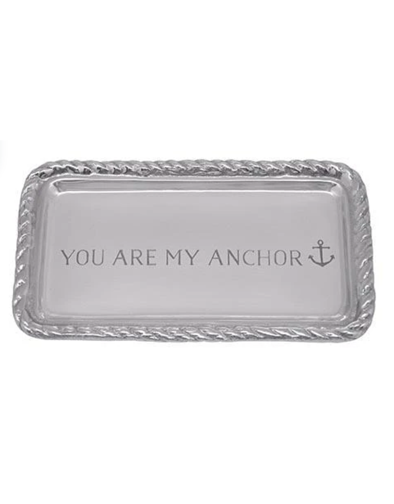 Mariposa You Are My Anchor Rope Tray