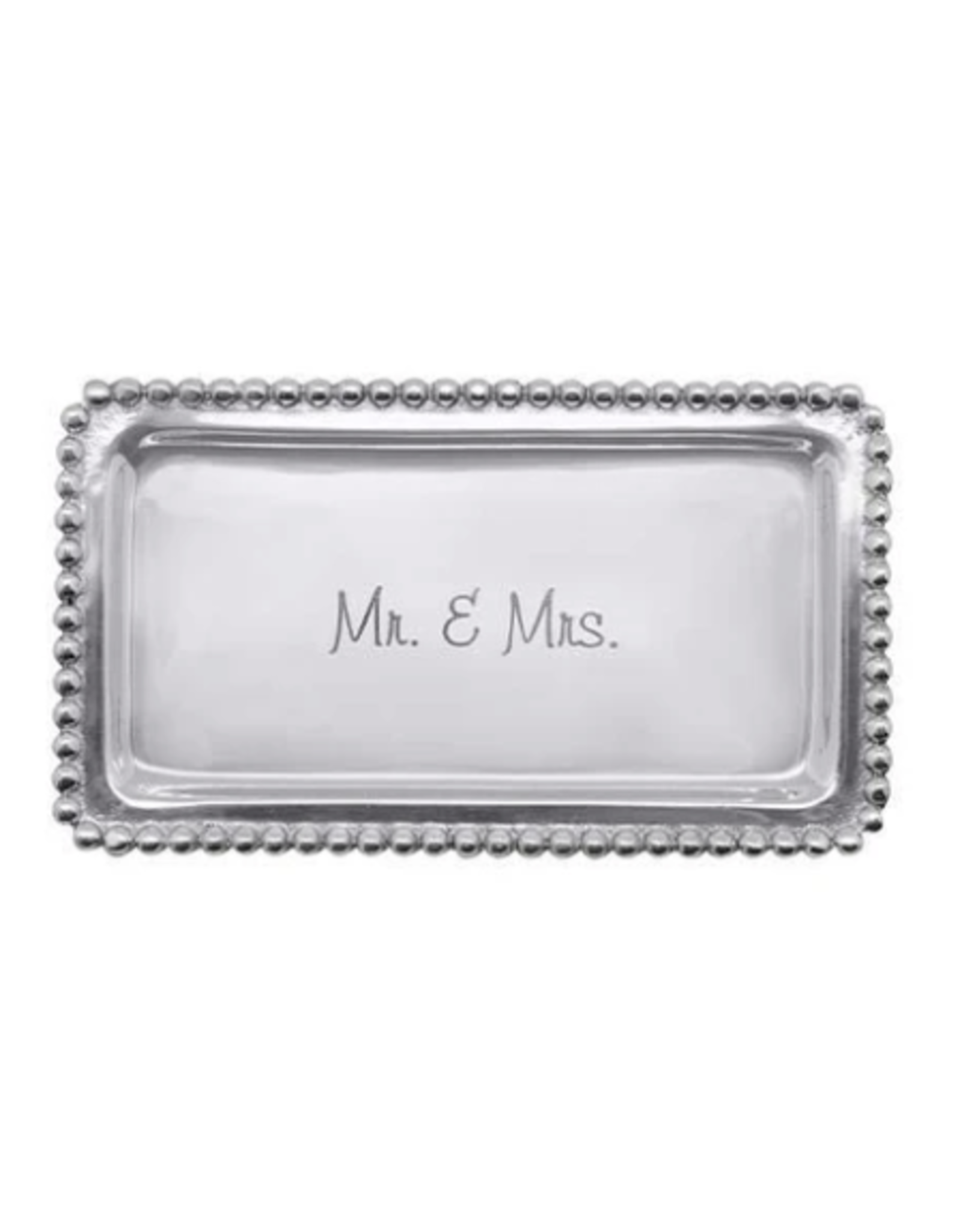 Mariposa Mr. & Mrs. Beaded Tray