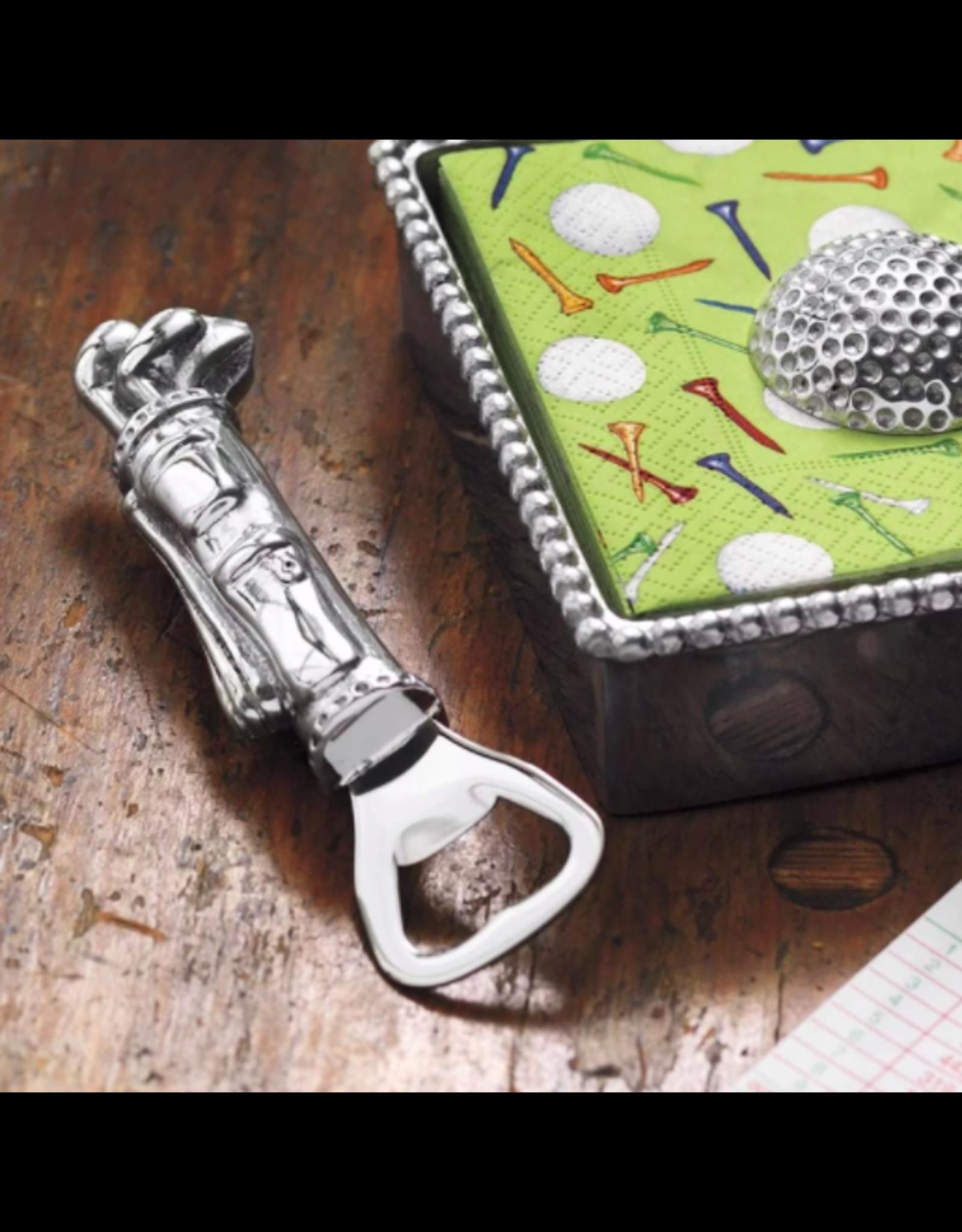 Mariposa Golf Bag Bottle Opener