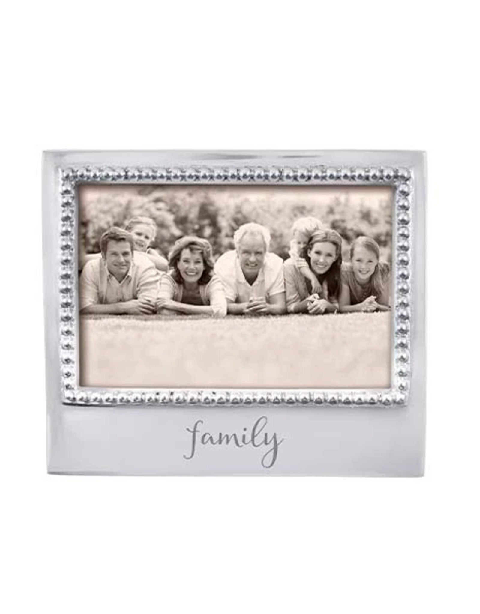 Mariposa Family Beaded 4x6 Frame