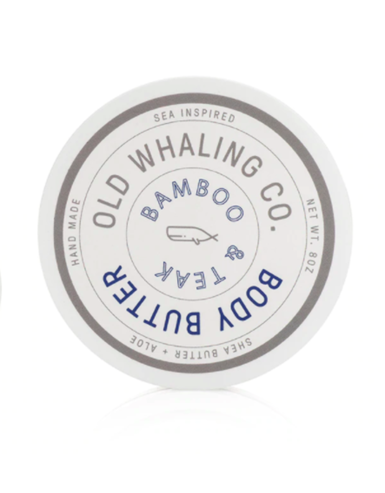 Old Whaling Co. Bamboo & Teak 8oz Body Butter