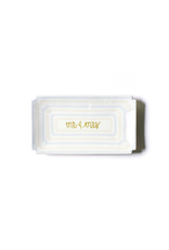 Coton Colors Mr. & Mrs. Ecru Tray