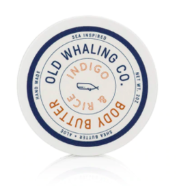 Old Whaling Co. Indigo & Rice 2oz Body Butter