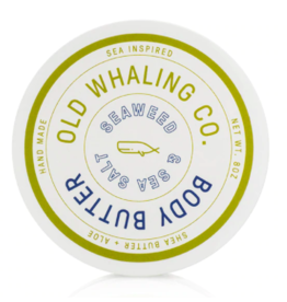 Old Whaling Co. Seaweed & Sea Salt 8oz Body Butter