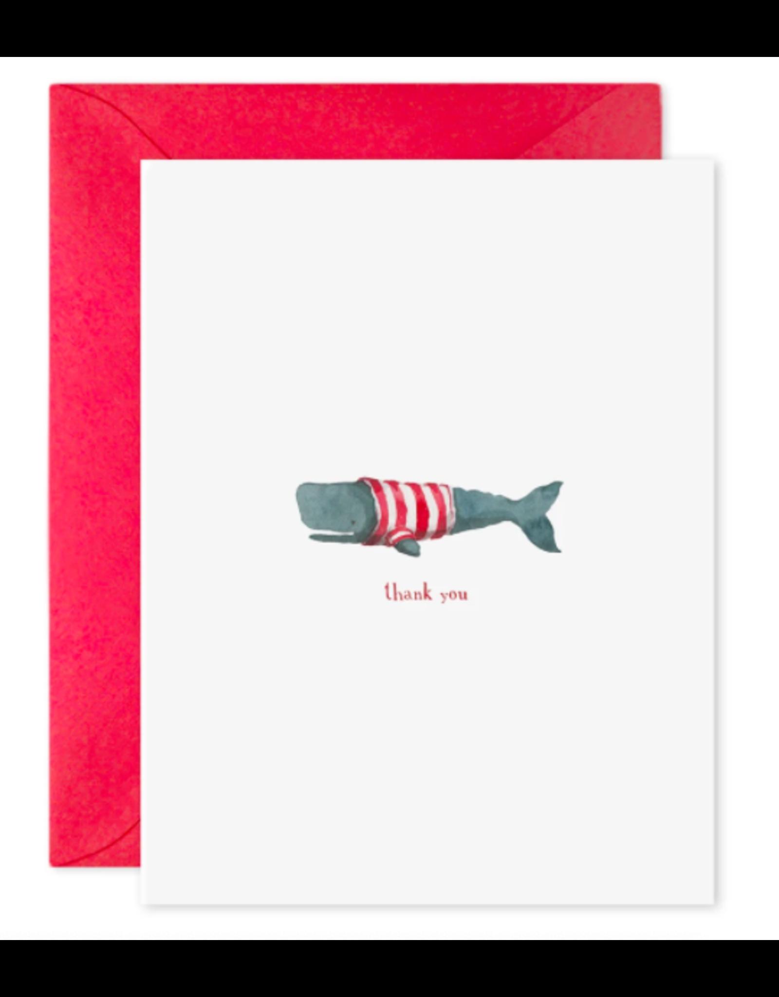 E. Frances Whale Thanks Boxed Notecard Set
