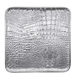 Mariposa Croc Medium Square Tray