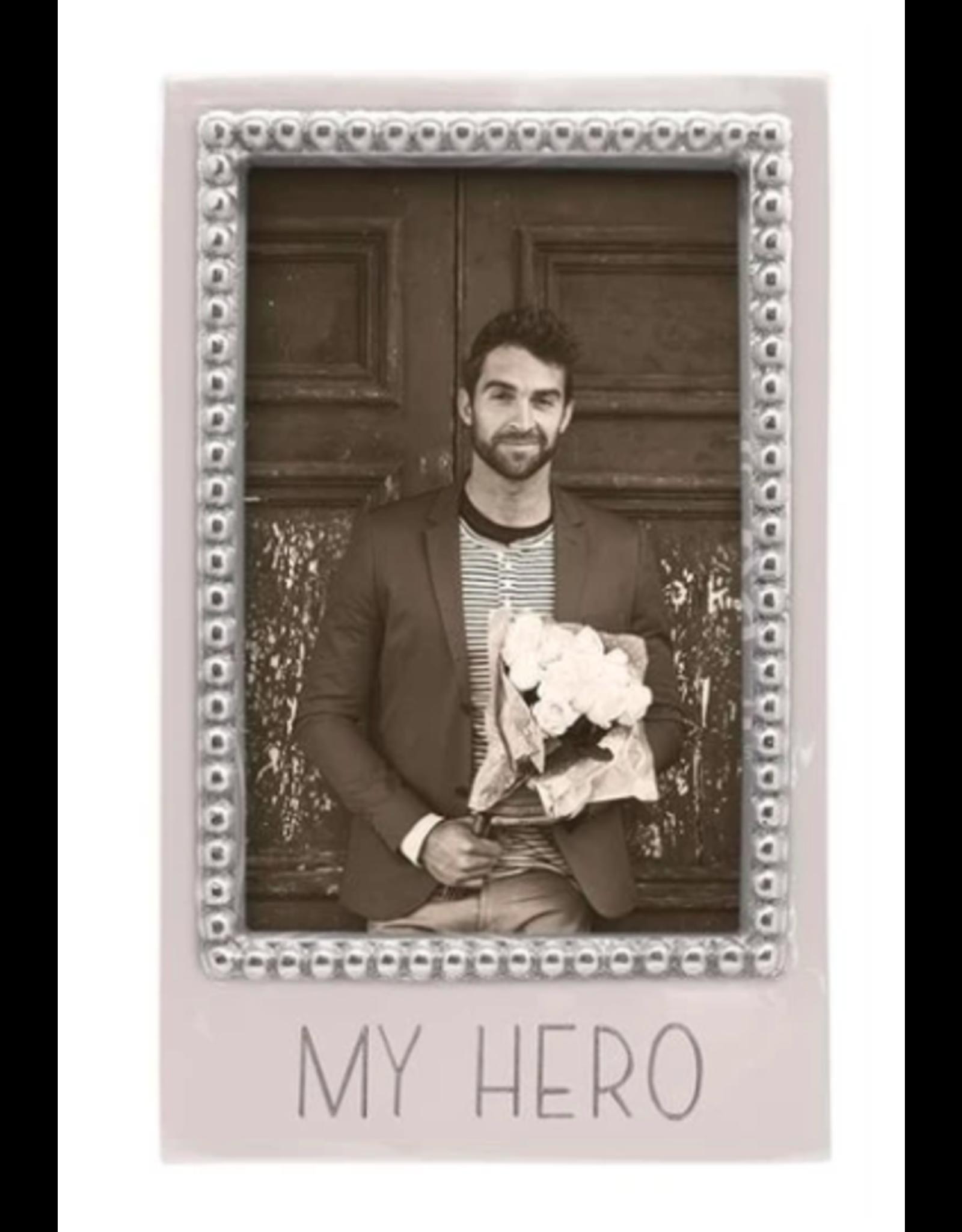 Mariposa My Hero Beaded 4x6 Frame