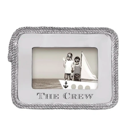 Mariposa The Crew Rope Statement 4x6 Frame
