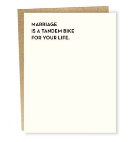 Sapling Press Tandem Bike Card