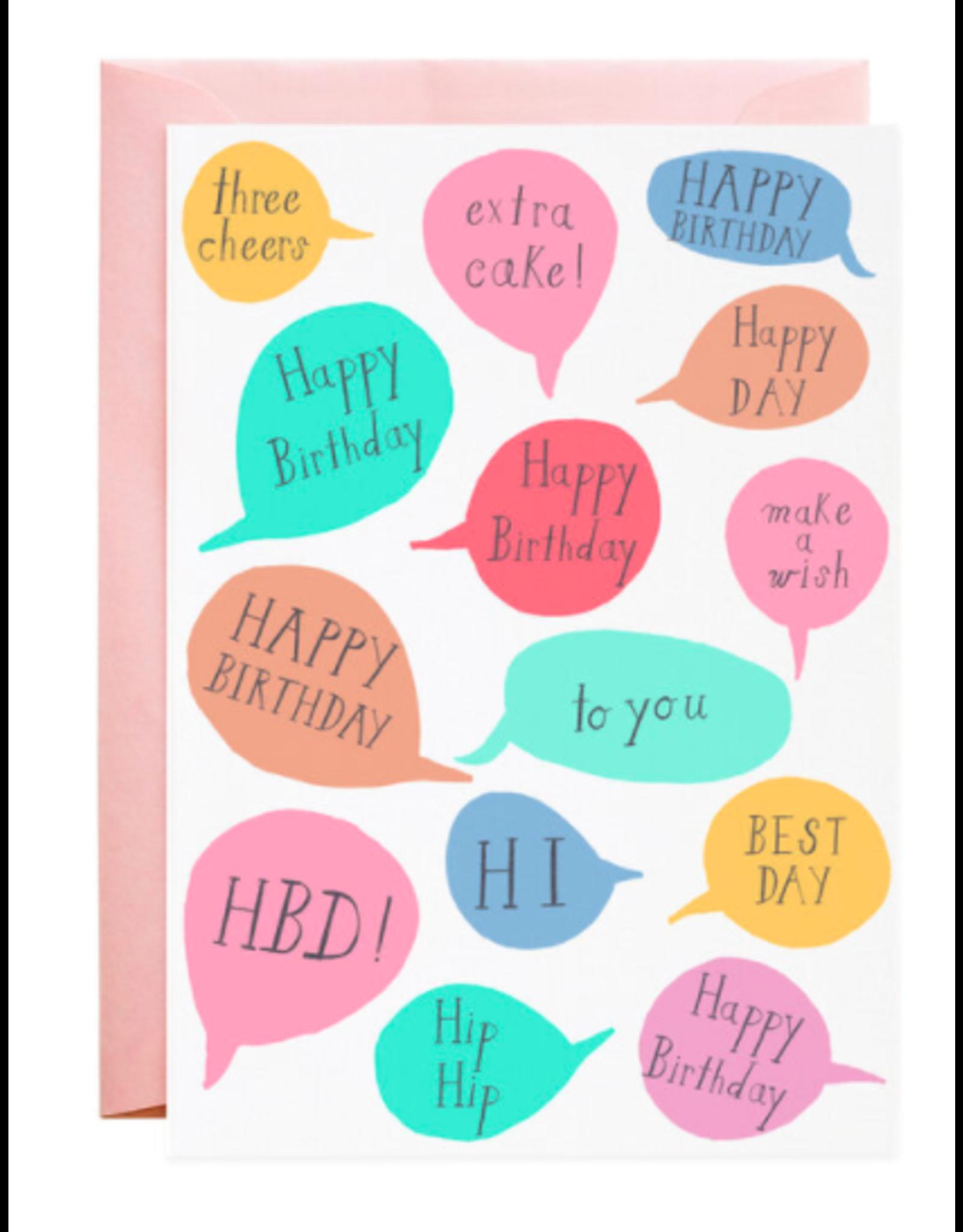 Mr. Boddington's Studio Best Day Birthday Card