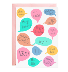 Mr. Boddington's Studio Best Day Birthday Card