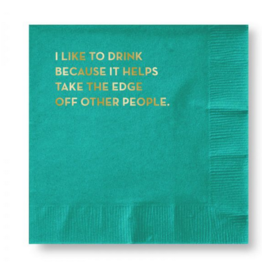 Sapling Press Other People Napkins