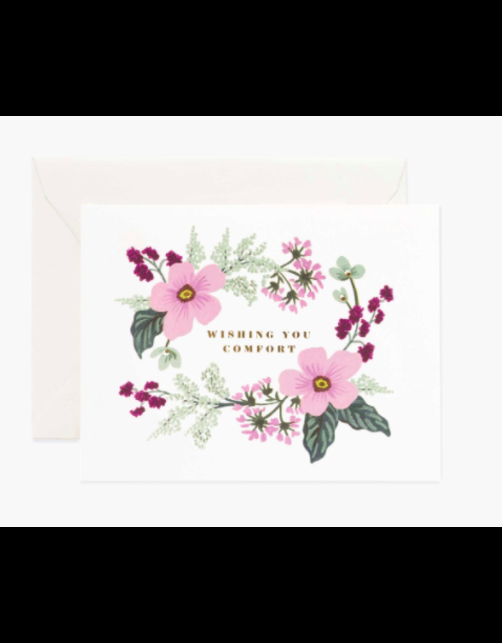 Rifle Paper Co. Wishing You Comfort Bouquet Card