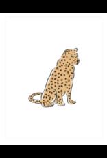 Clairebella Leopard at Rest Art Print 8x10