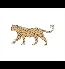 Clairebella Leopard on Prowl Art Print 8x10